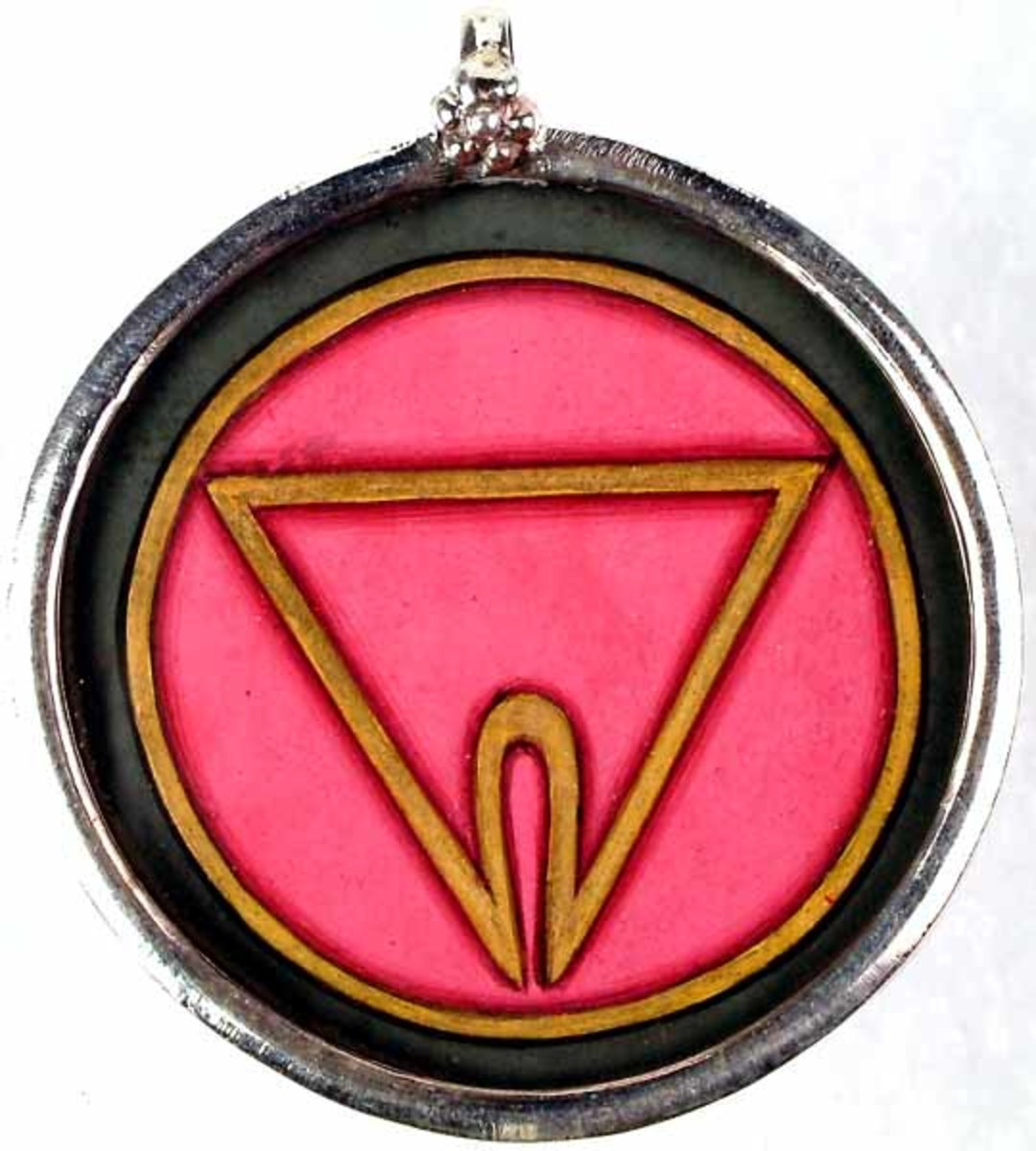 The yoni.  The symbol of the sacred aspect of the physical feminine in Tantric ritual.