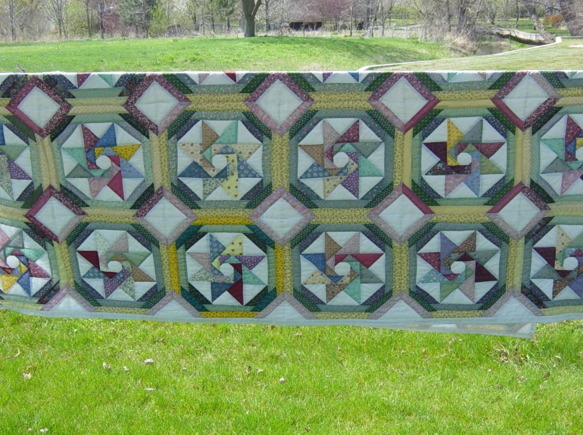Few things bring to mind a feeling of home and comfort than a well-worn quilt.