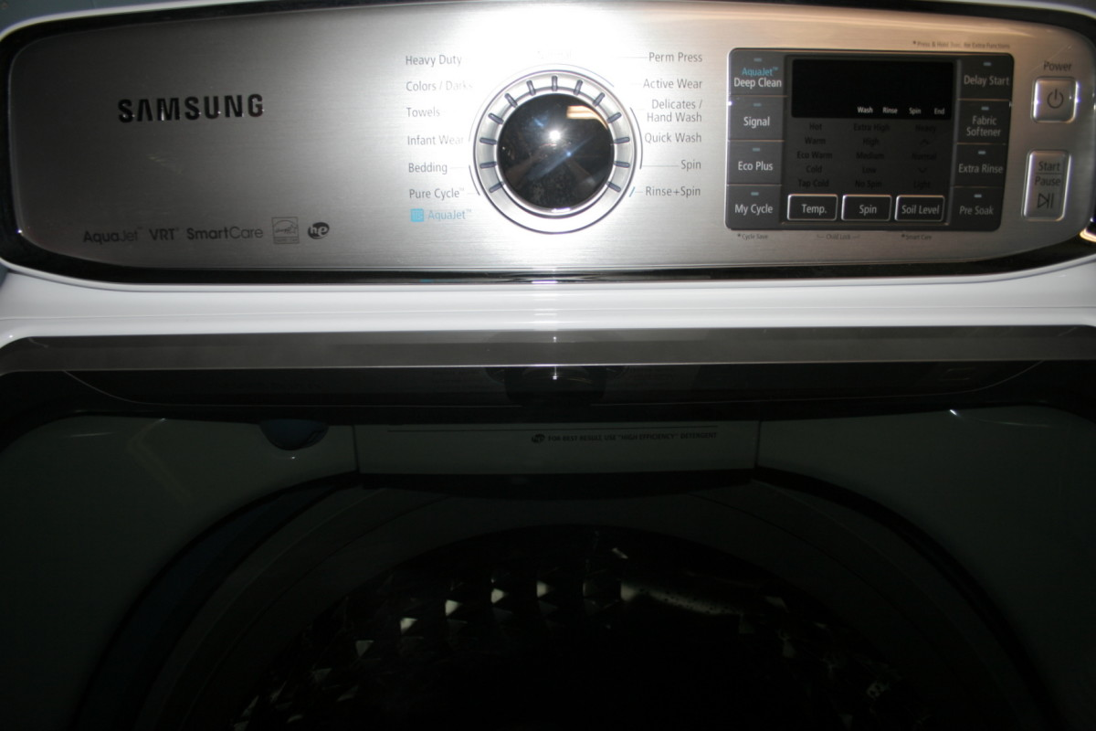 Washing machine codes for Samsung top loader washing machine