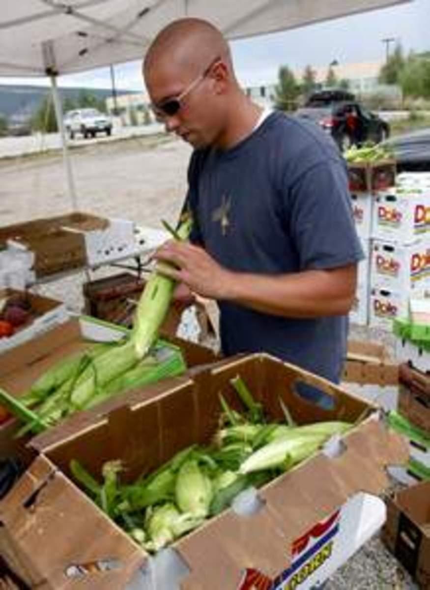 olathe corn stand in Durango