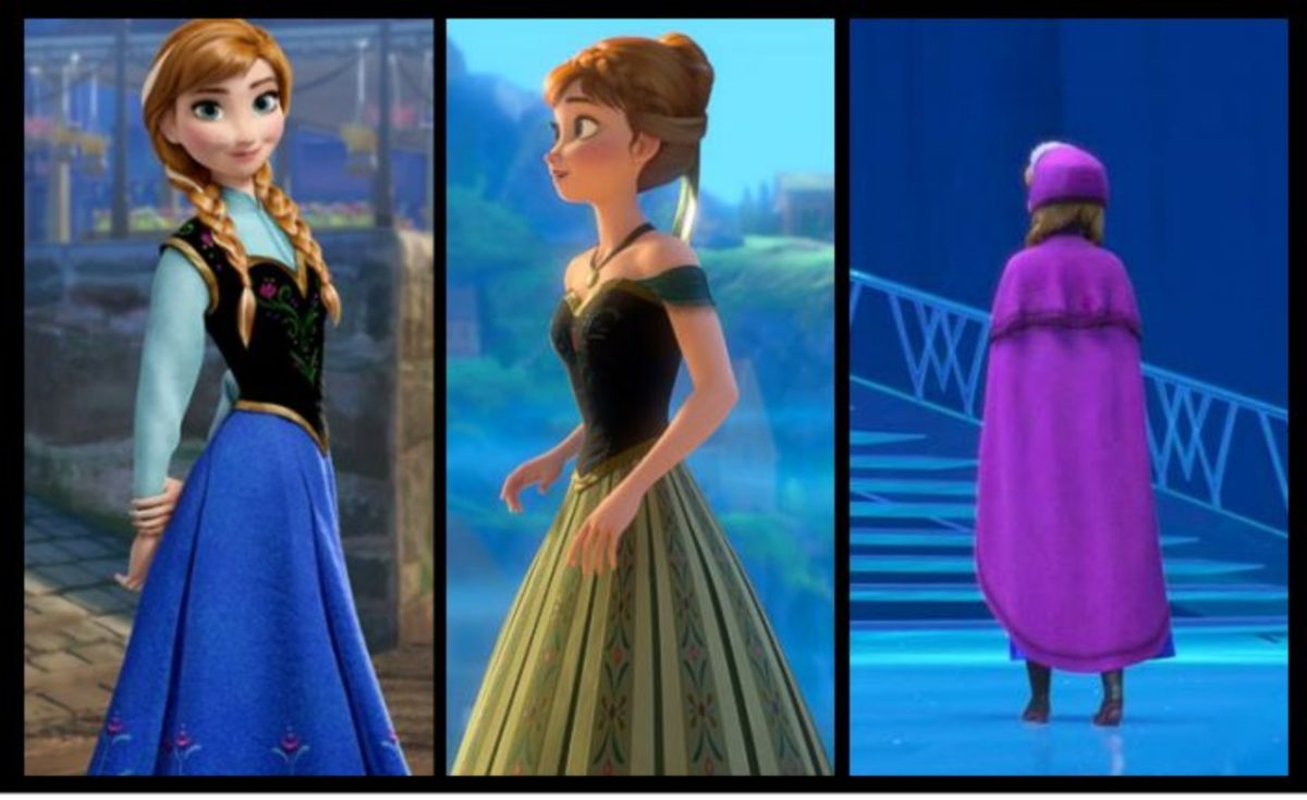 Princess Anna from Disney Frozen on Facebook