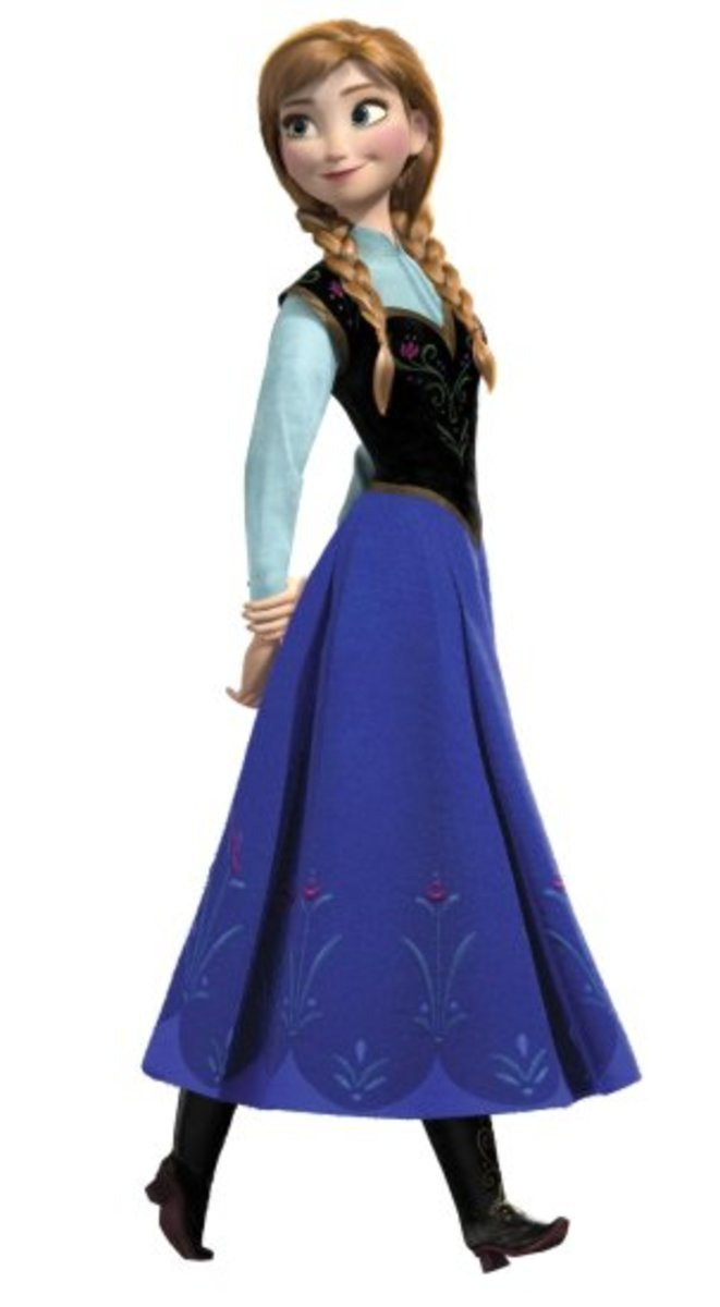 Anna decal available on Amazon