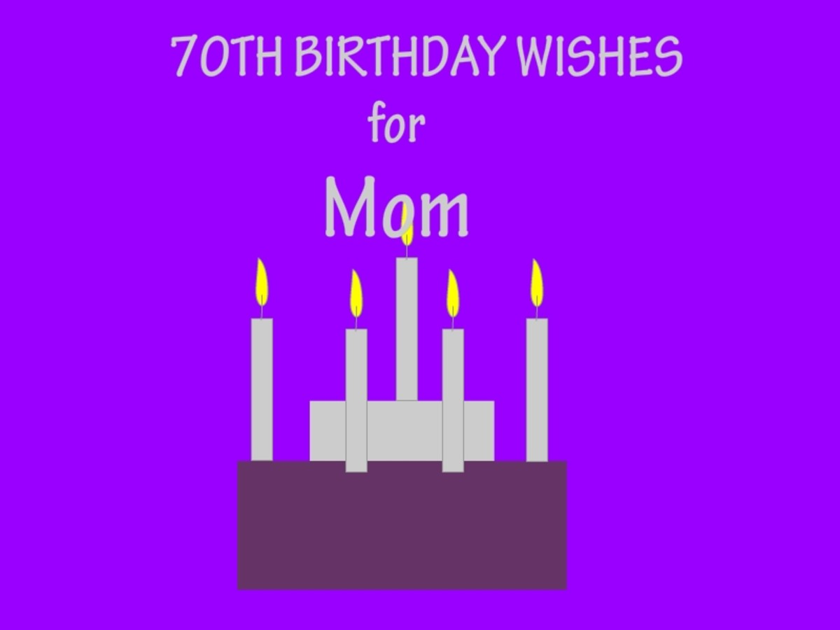 Collection of 70th Birthday Wishes for Mom