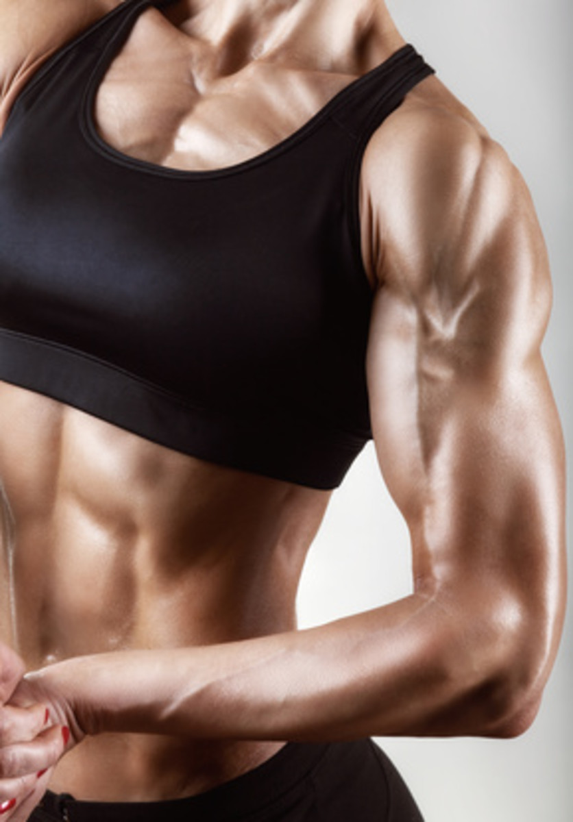 Lose upper arm fat Now! How to get rid of flabby arms.
