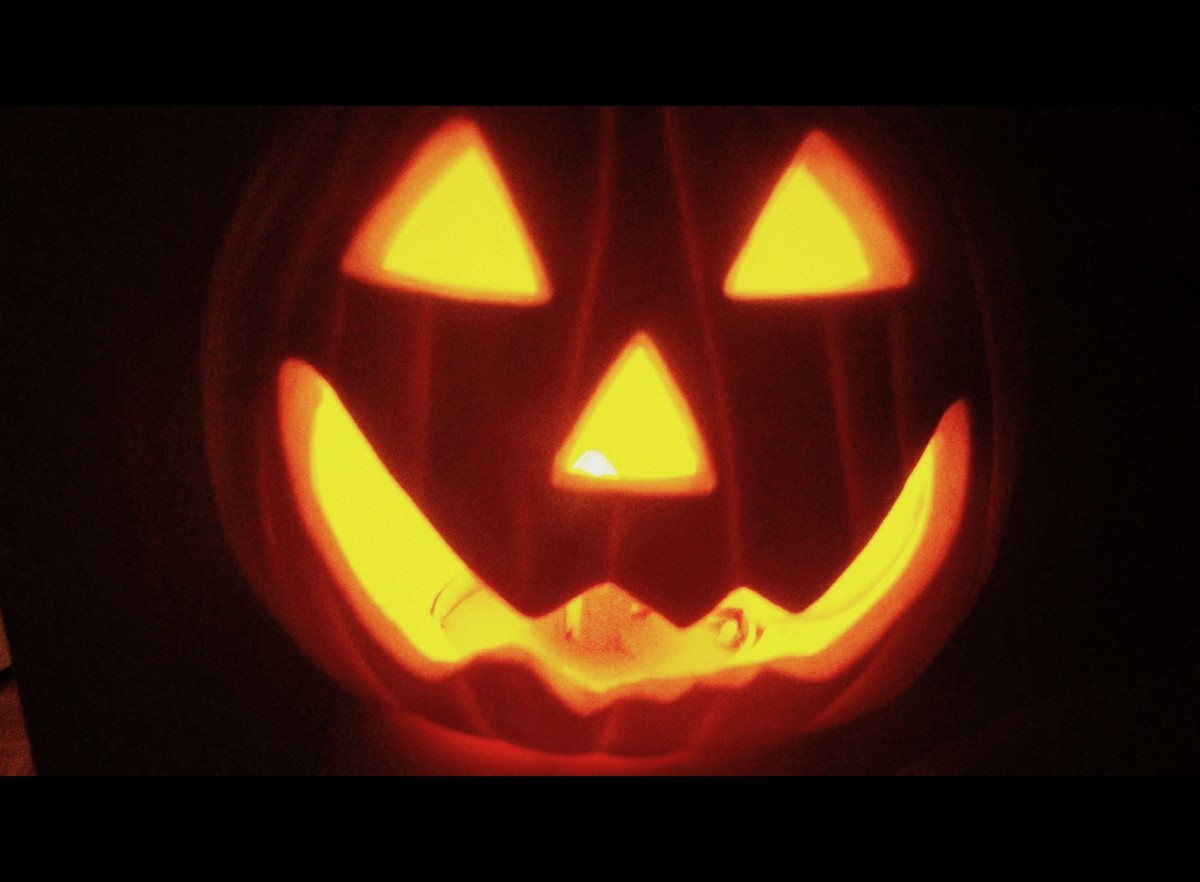 Jack o' Lantern - movie screen effect