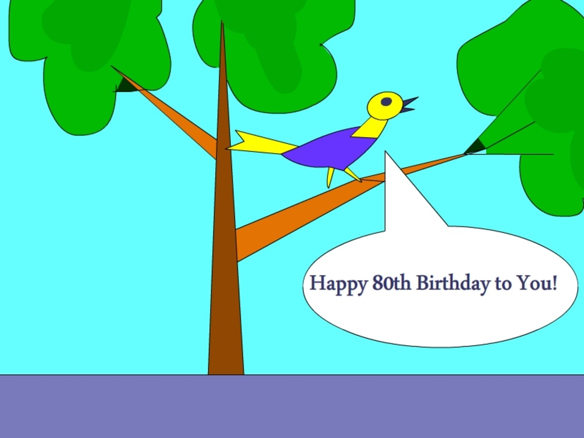 80th Birthday Wishes New 200 Happy Quotes With Funny A Colorful Card To Wish Your Loved Ones