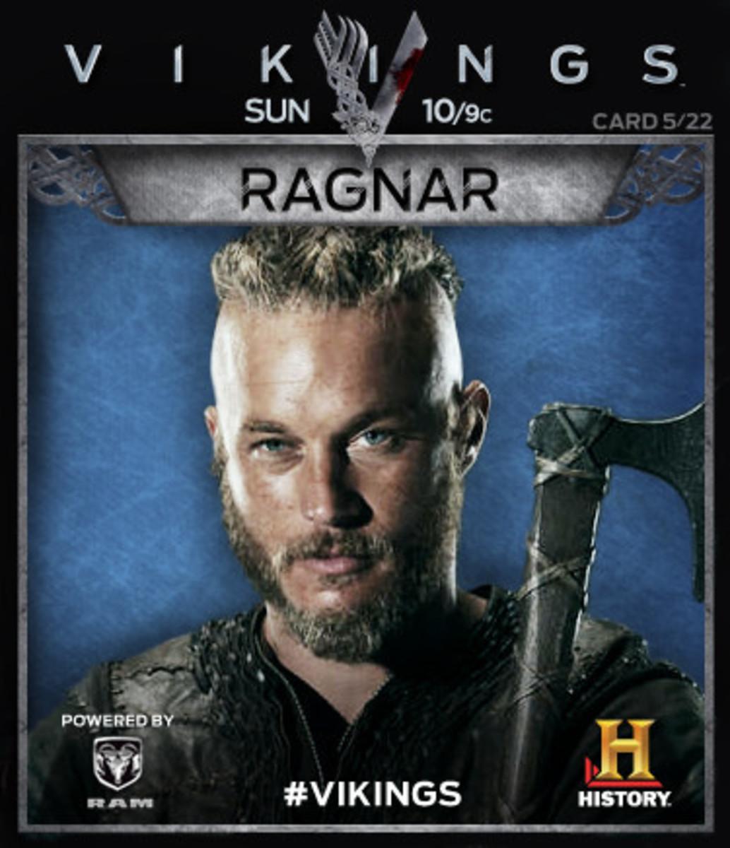 Do we see Ragnar go 'Berserker' in some battles?