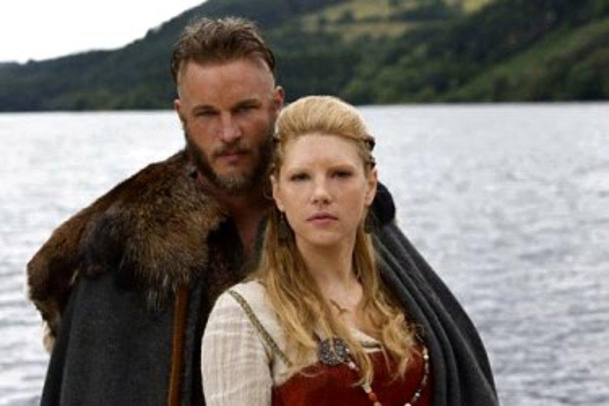 Ragnar & Lagertha Lothbrock