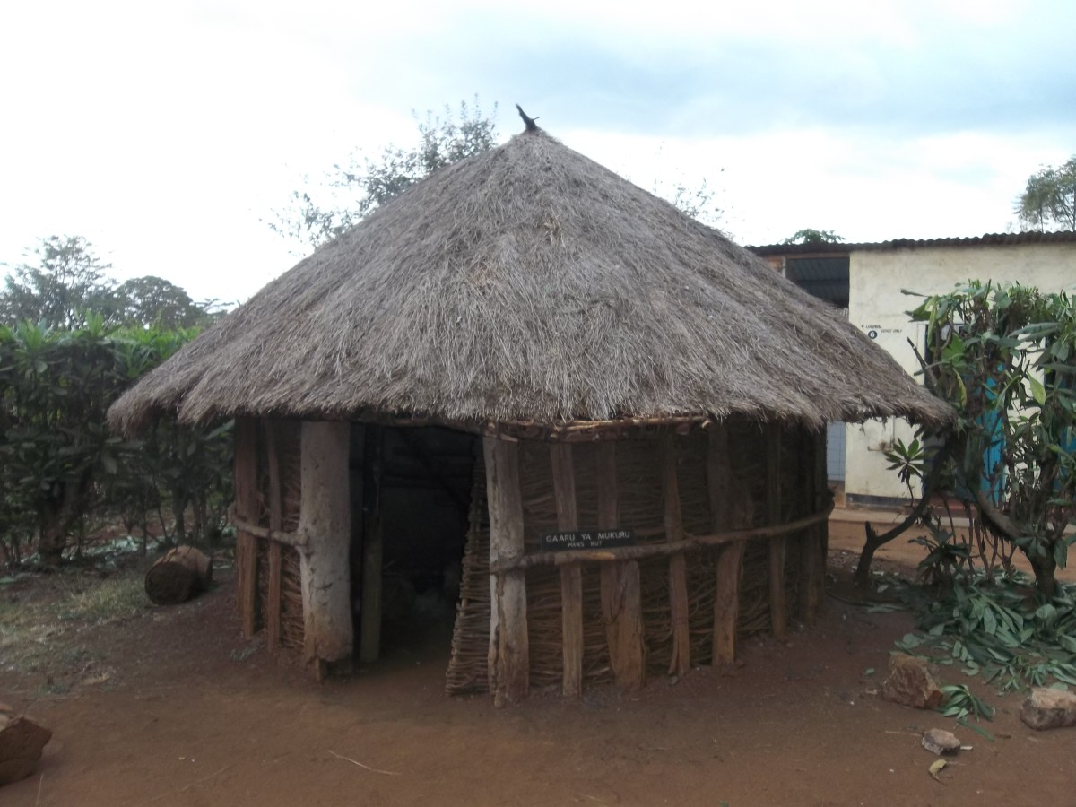 A traditional hut of the Ameru people - Meru Museum