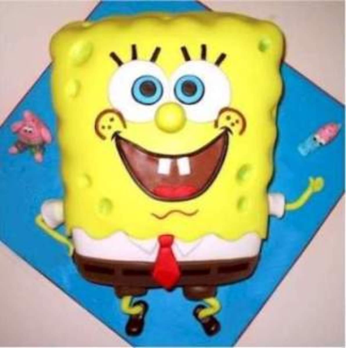 How to make a Spongebob squarepants cake A firm favourite for any