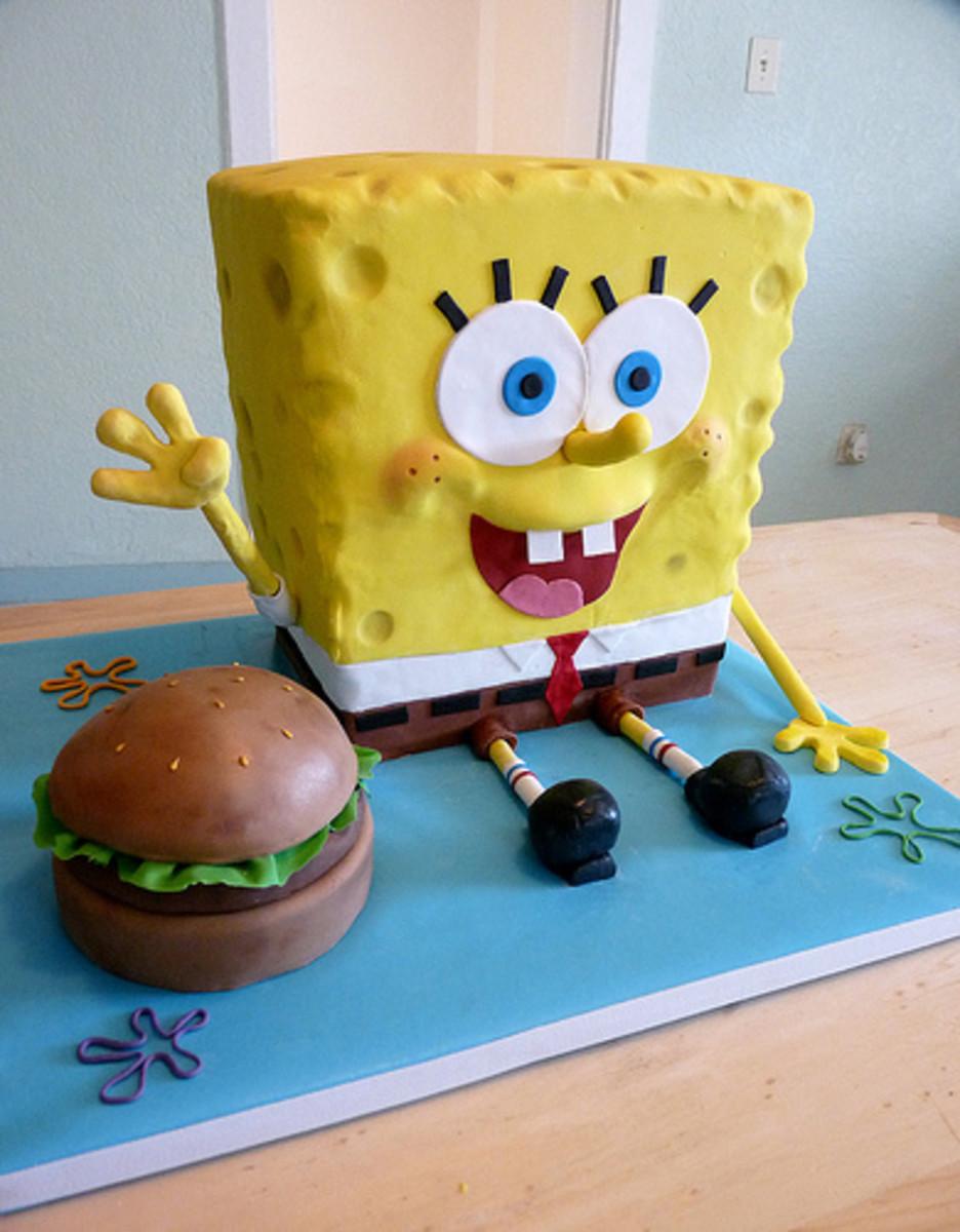 How Do You Make A Spongebob Cake
