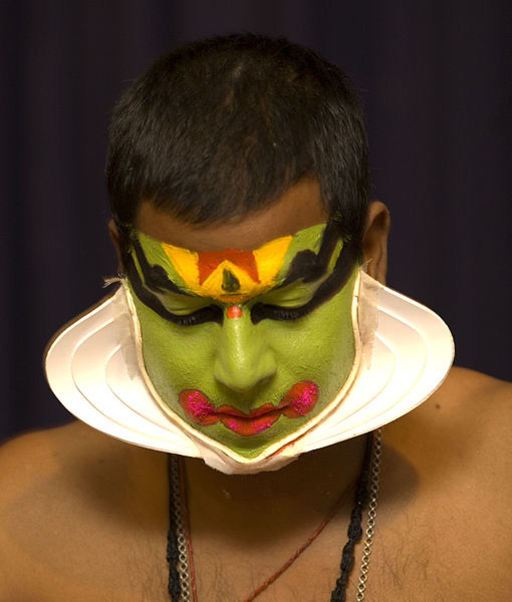 Kathakali Makeup Green