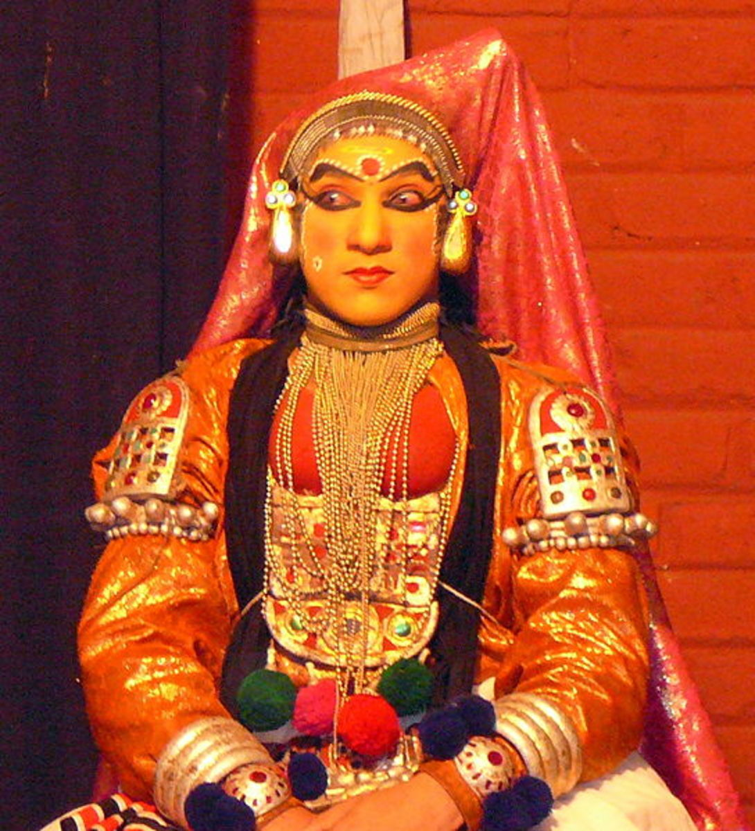 Kathakali Female.