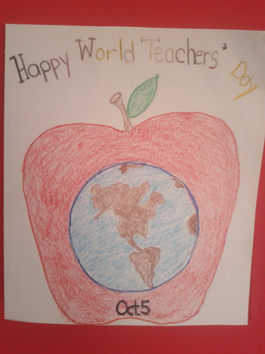 World Teacher Day is October 5th of Each Year.