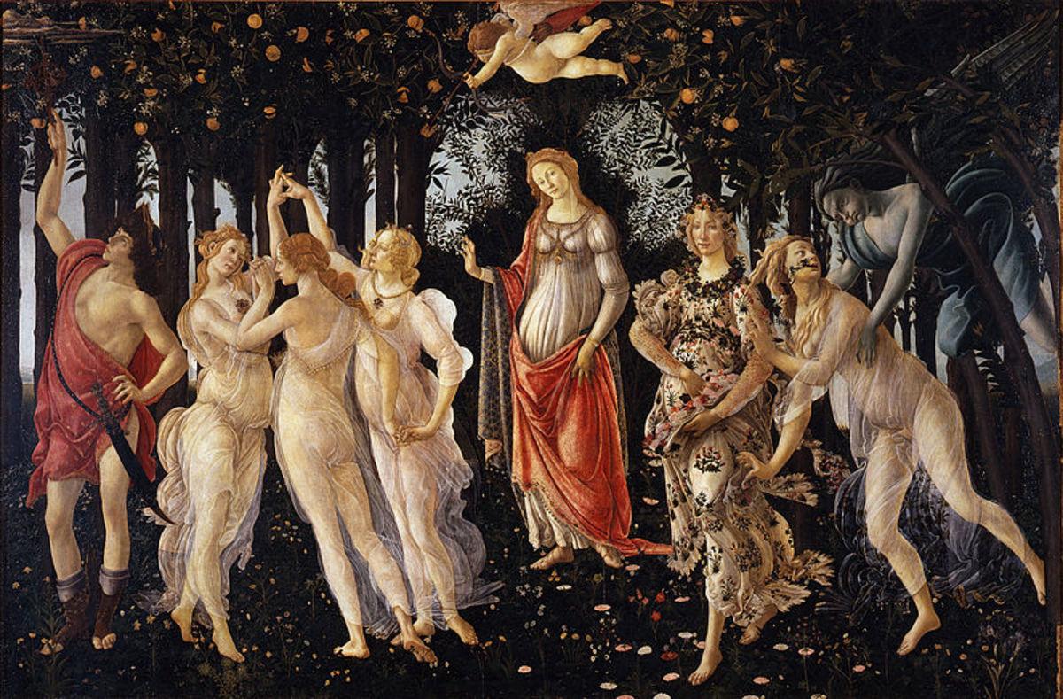 La Primavera (The Spring) c. 1482