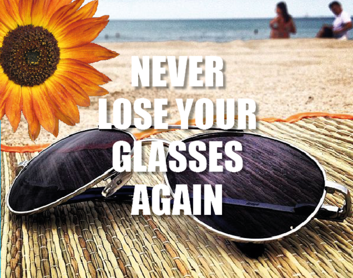 Never lose your glasses again - the stylish way