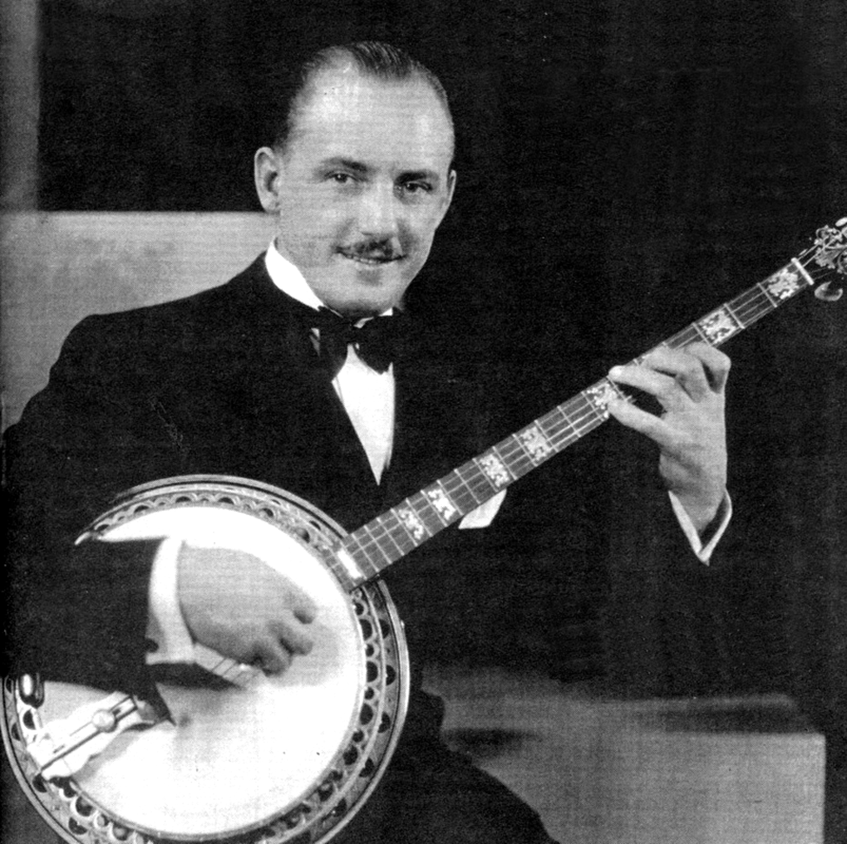 Harry Reser, arguably the best banjoist of the 1920s.