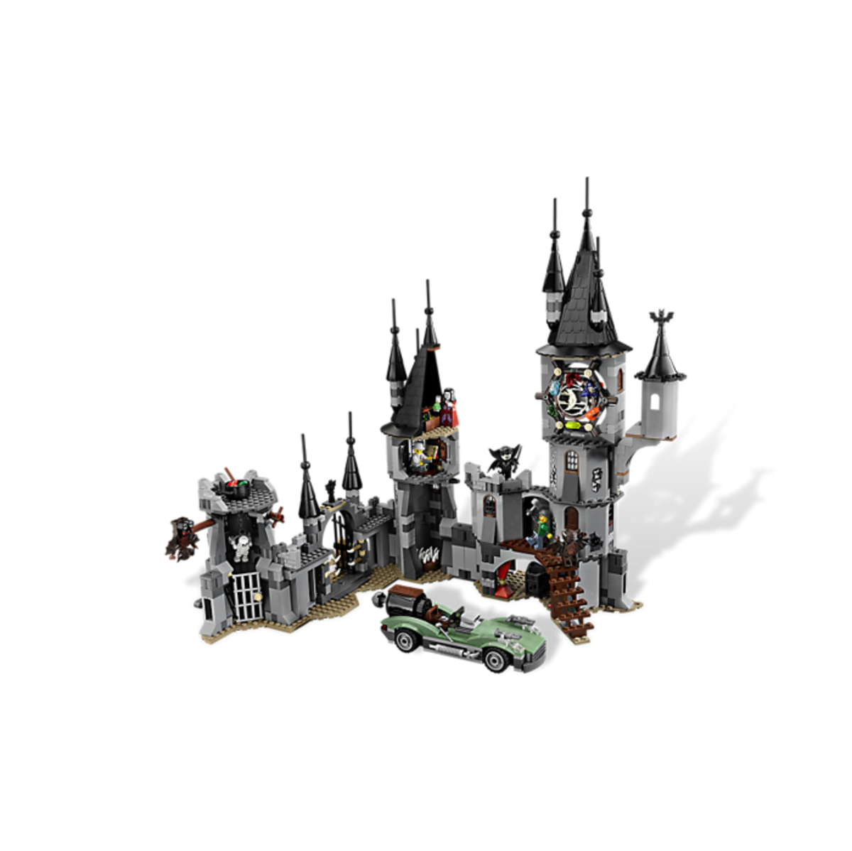 LEGO Monster Fighters The Vampyre Castle 9468 Assembled Inside