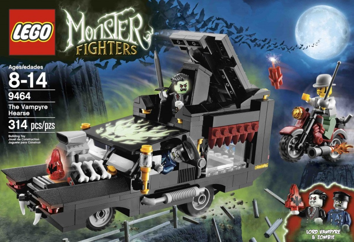 LEGO Monster Fighters The Vampyre Hearse 9464 Box