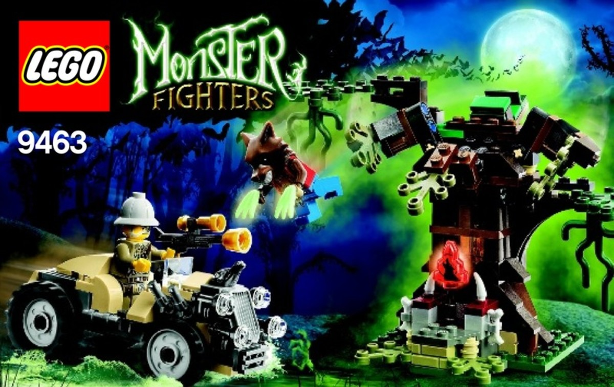 LEGO Monster Fighters The Werewolf 9463 Box
