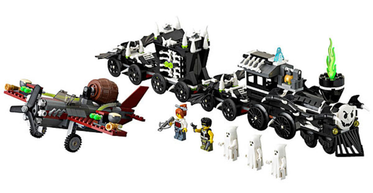 LEGO Monster Fighters The Ghost Train 9467 Assembled