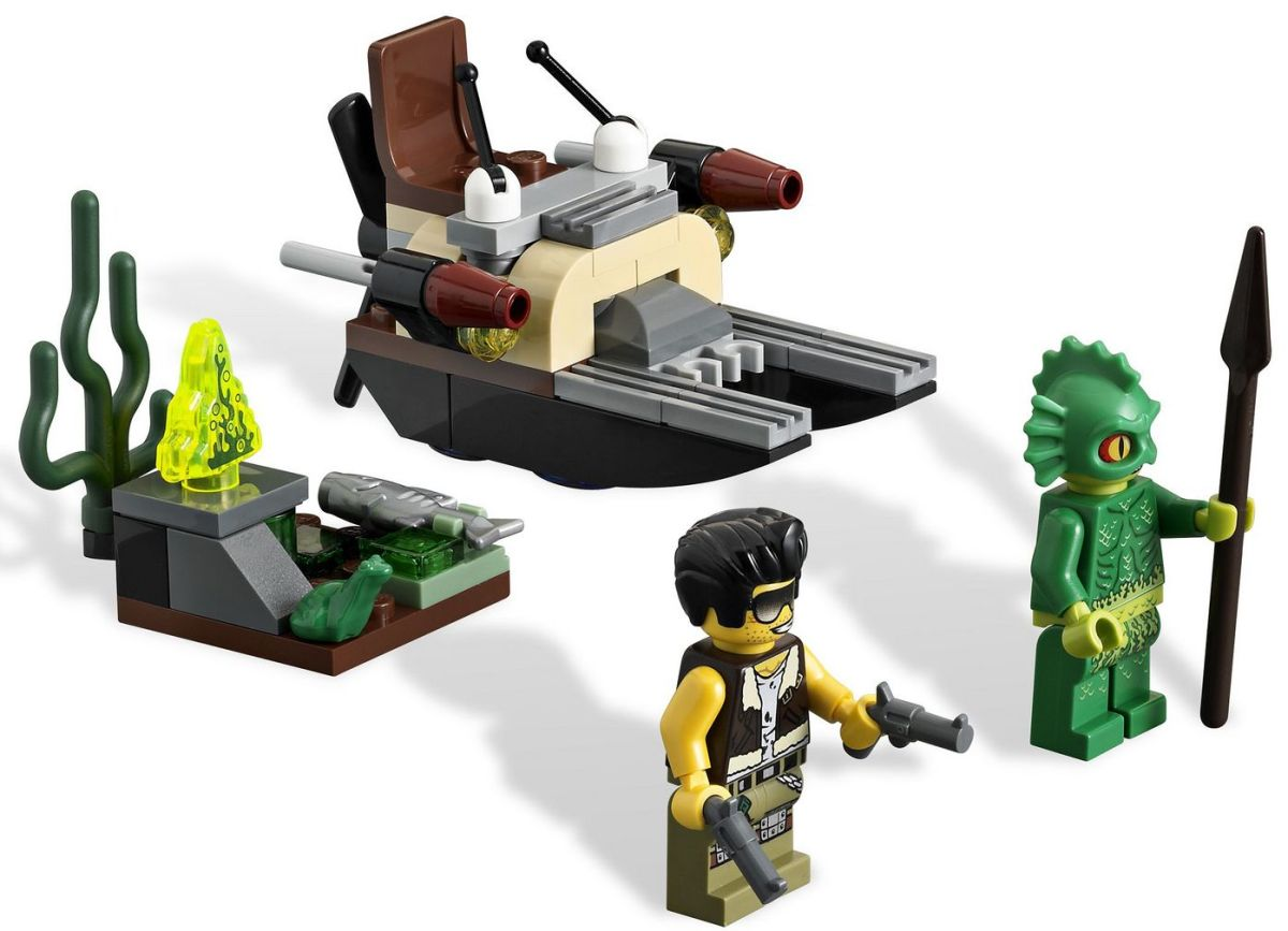 LEGO Monster Fighters The Swamp Creature 9461 Assembled
