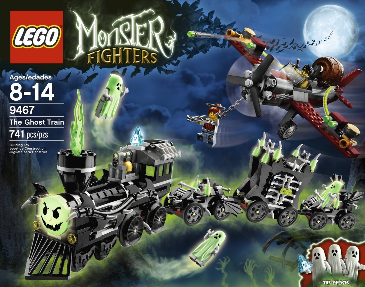 LEGO Monster Fighters The Ghost Train 9467 Box
