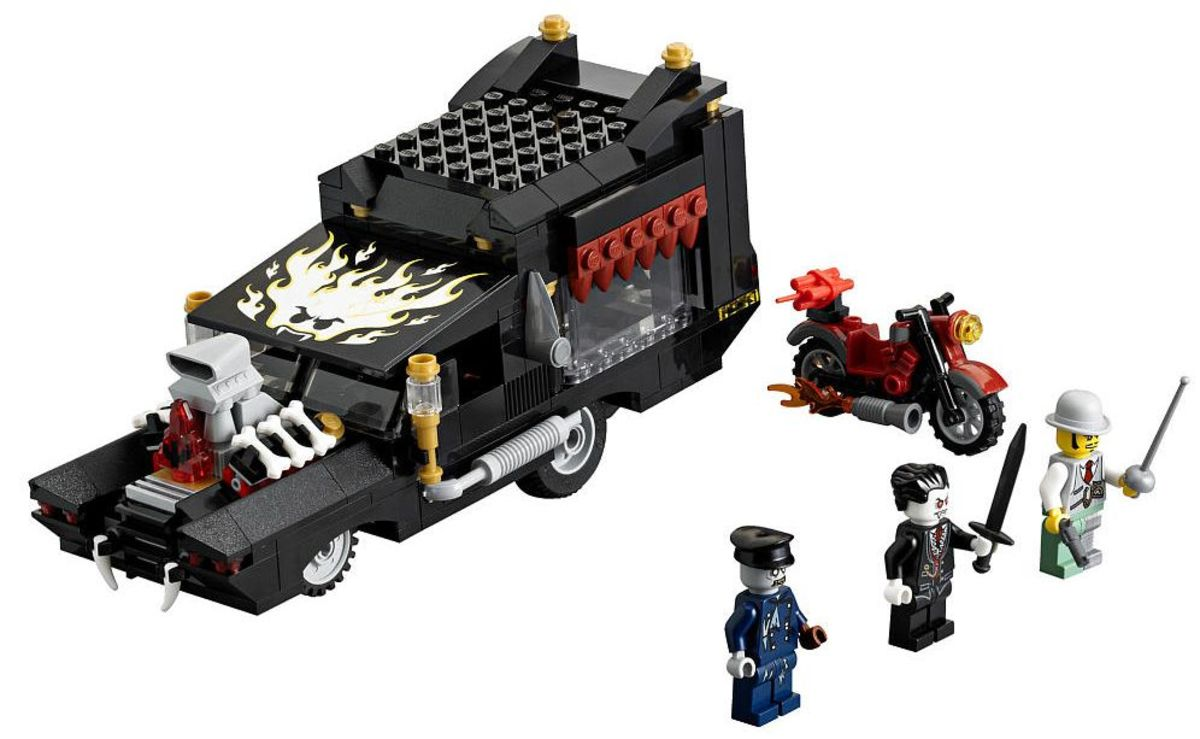 LEGO Monster Fighters The Vampyre Hearse 9464 Assembled