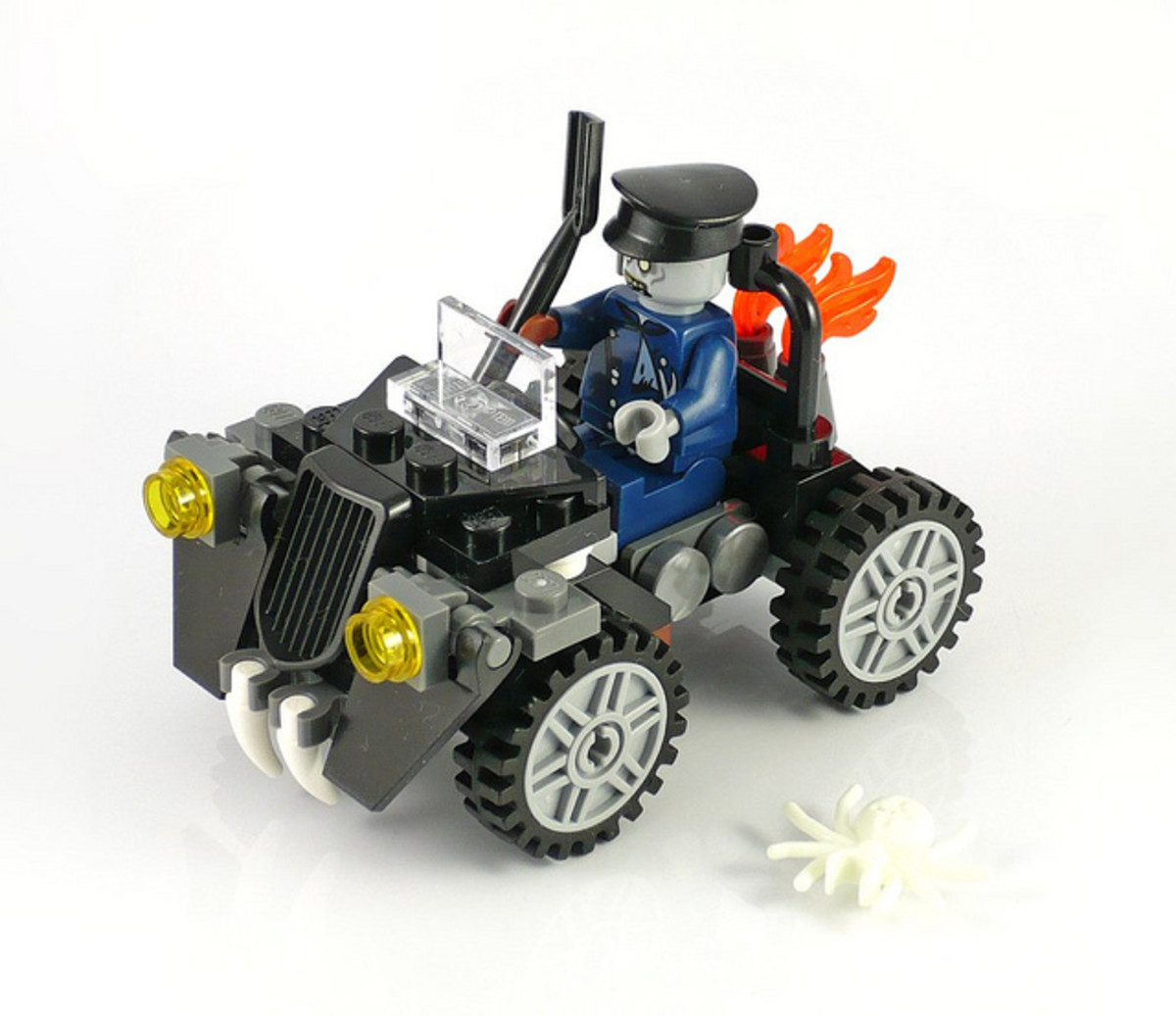LEGO Monster Fighters Zombie Car 40076 Assembled