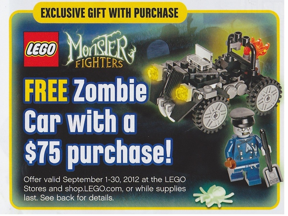 LEGO Monster Fighter Zombie Car 40076 Ad