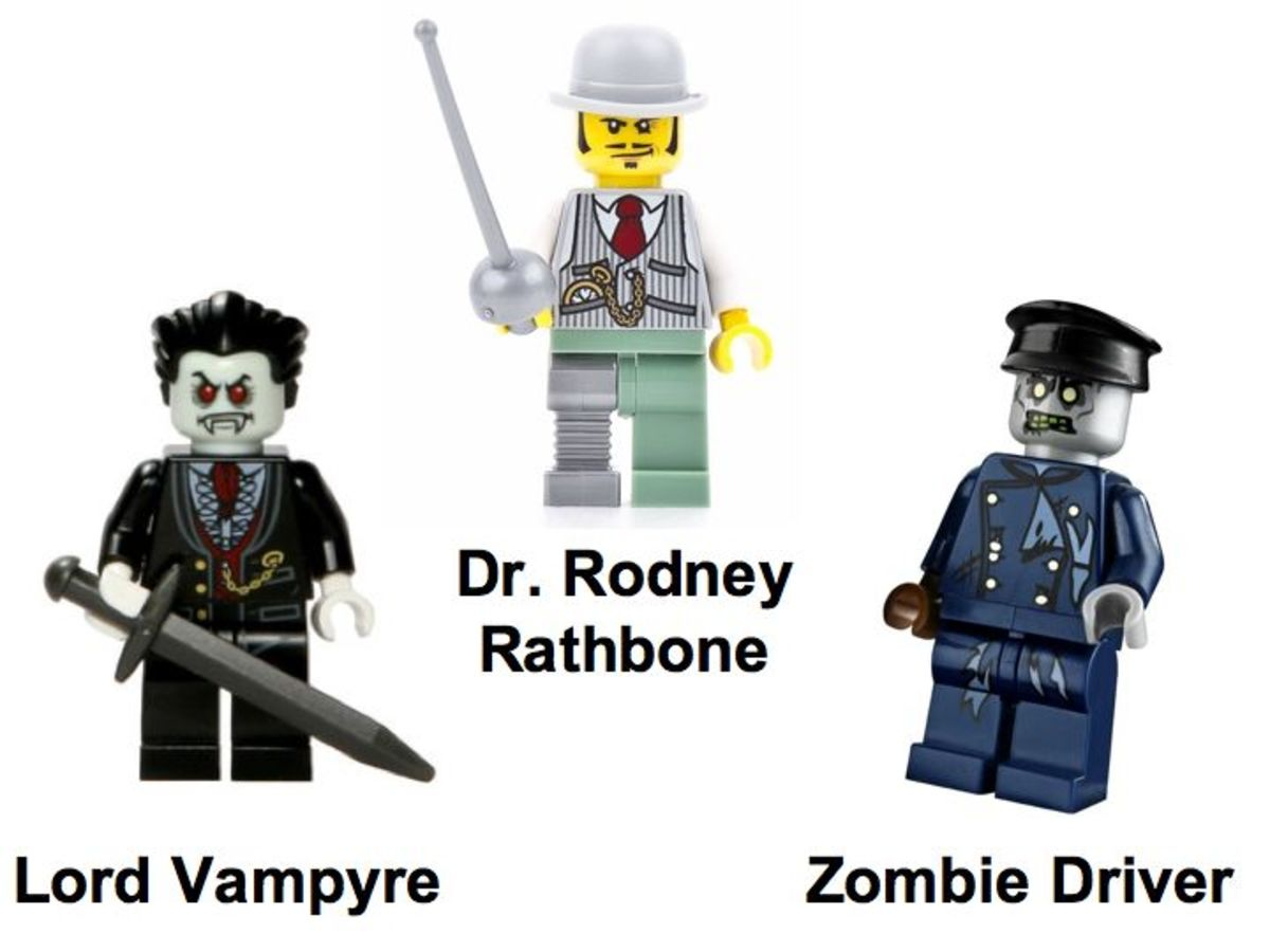 LEGO Monster Fighters The Vampyre Hearse 9464 Minifigures