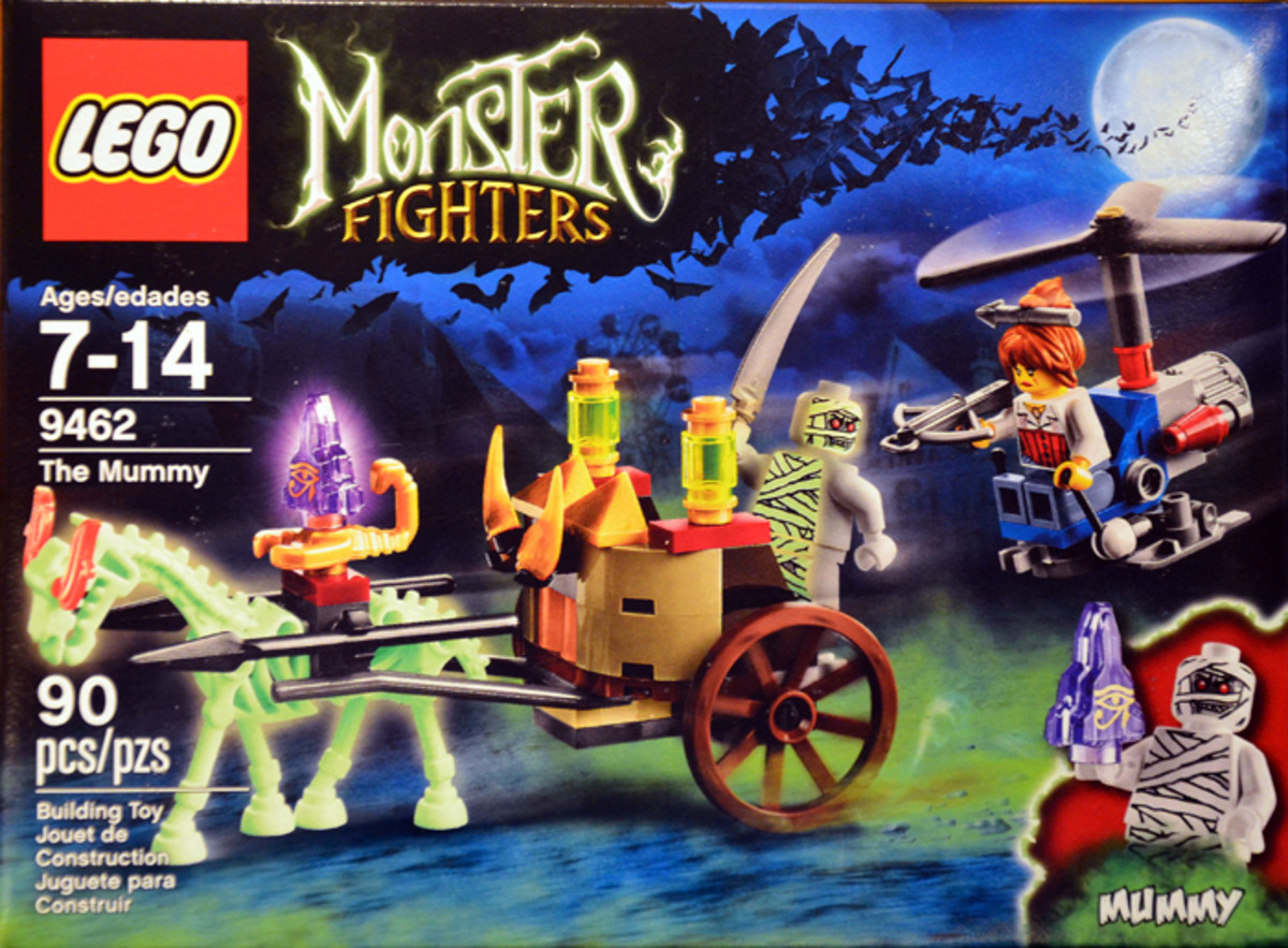 LEGO Monster Fighters The Mummy 9462 Box