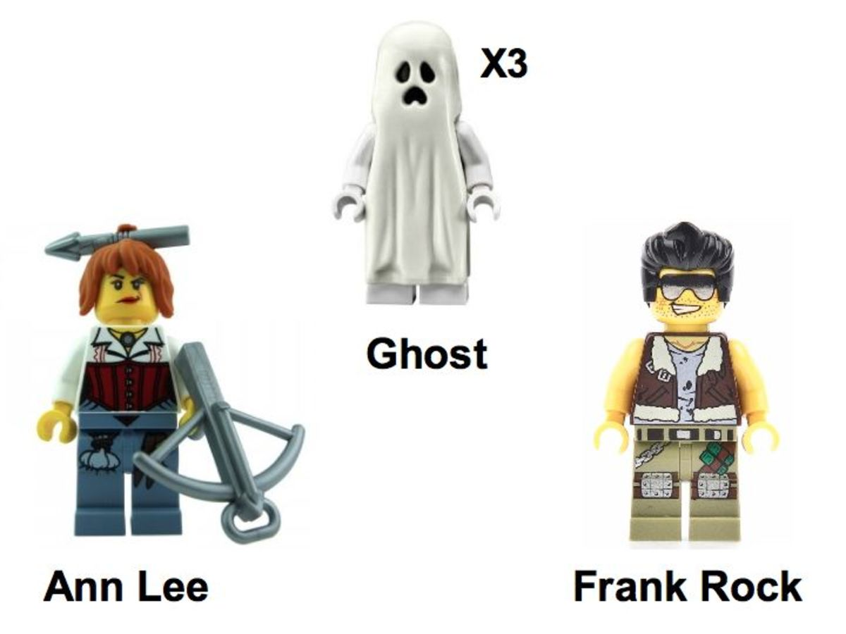 LEGO Monster Fighters The Ghost Train 9467 Minifigures
