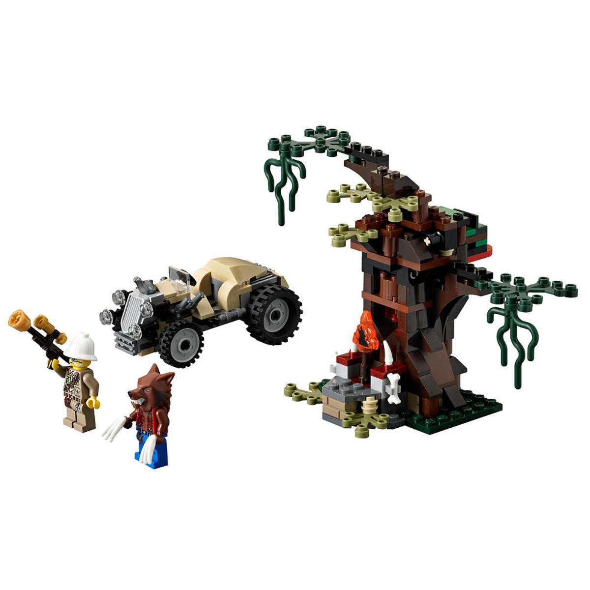 LEGO Monster Fighters The Werewolf 9463 Assembled