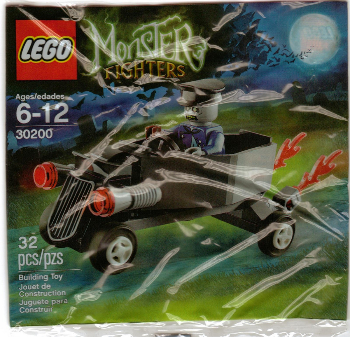 LEGO Monster Fighters Zombie Coffin Car 30200 Bag