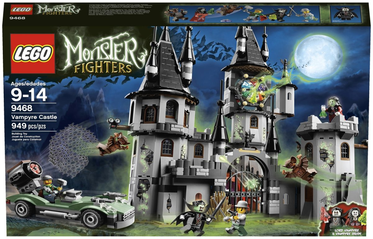 LEGO Monster Fighters The Vampyre Castle 9468 Box
