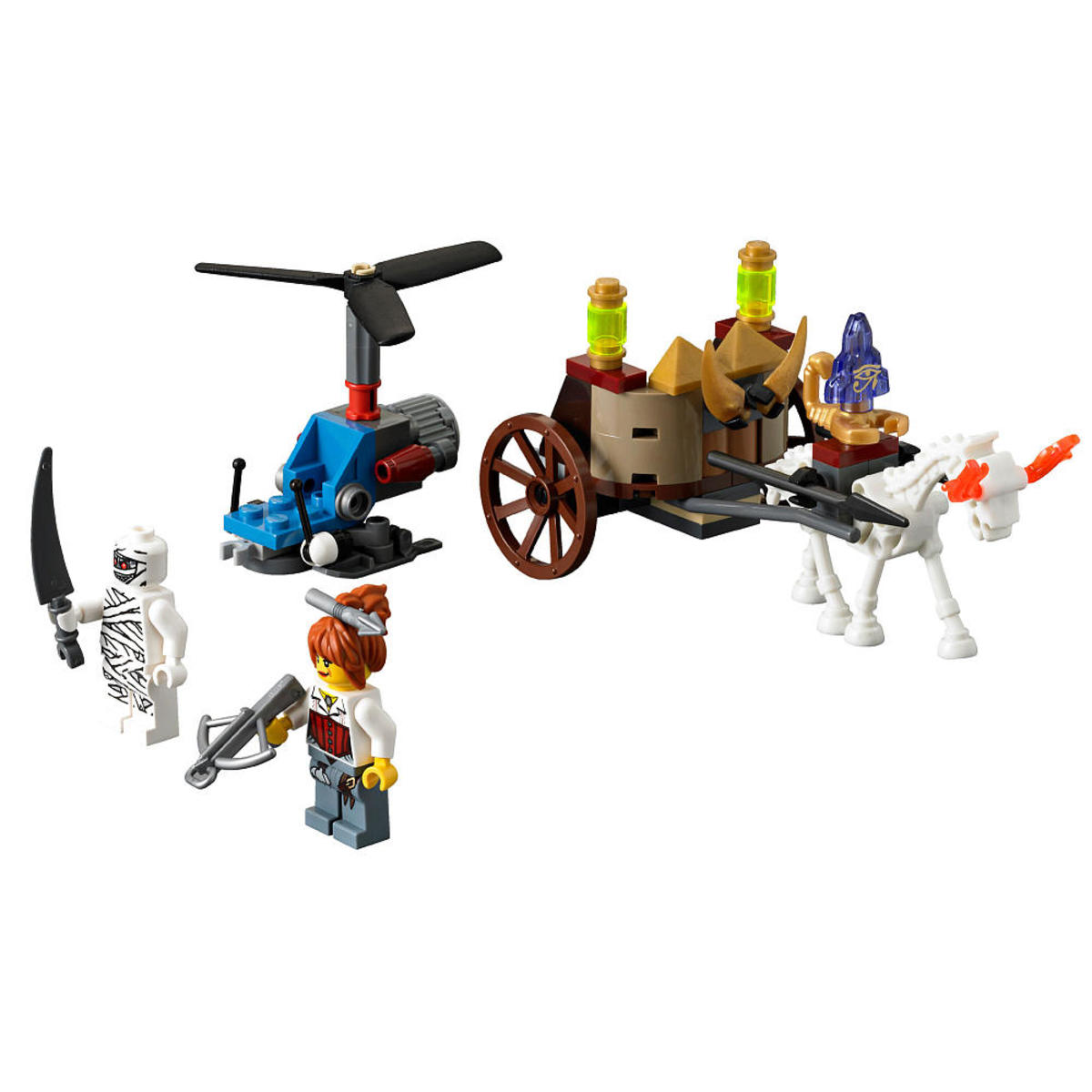 LEGO Monster Fighters The Mummy 9462 Assembled