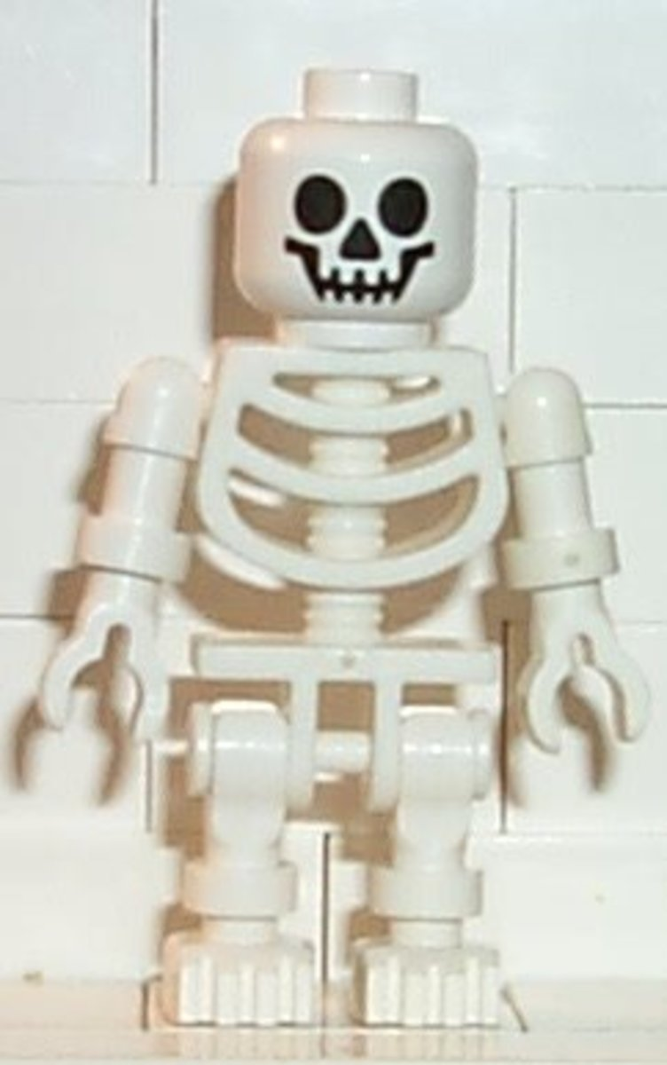 LEGO Monster Fighters Promotional Pack 5000644 Skeleton Minifigure