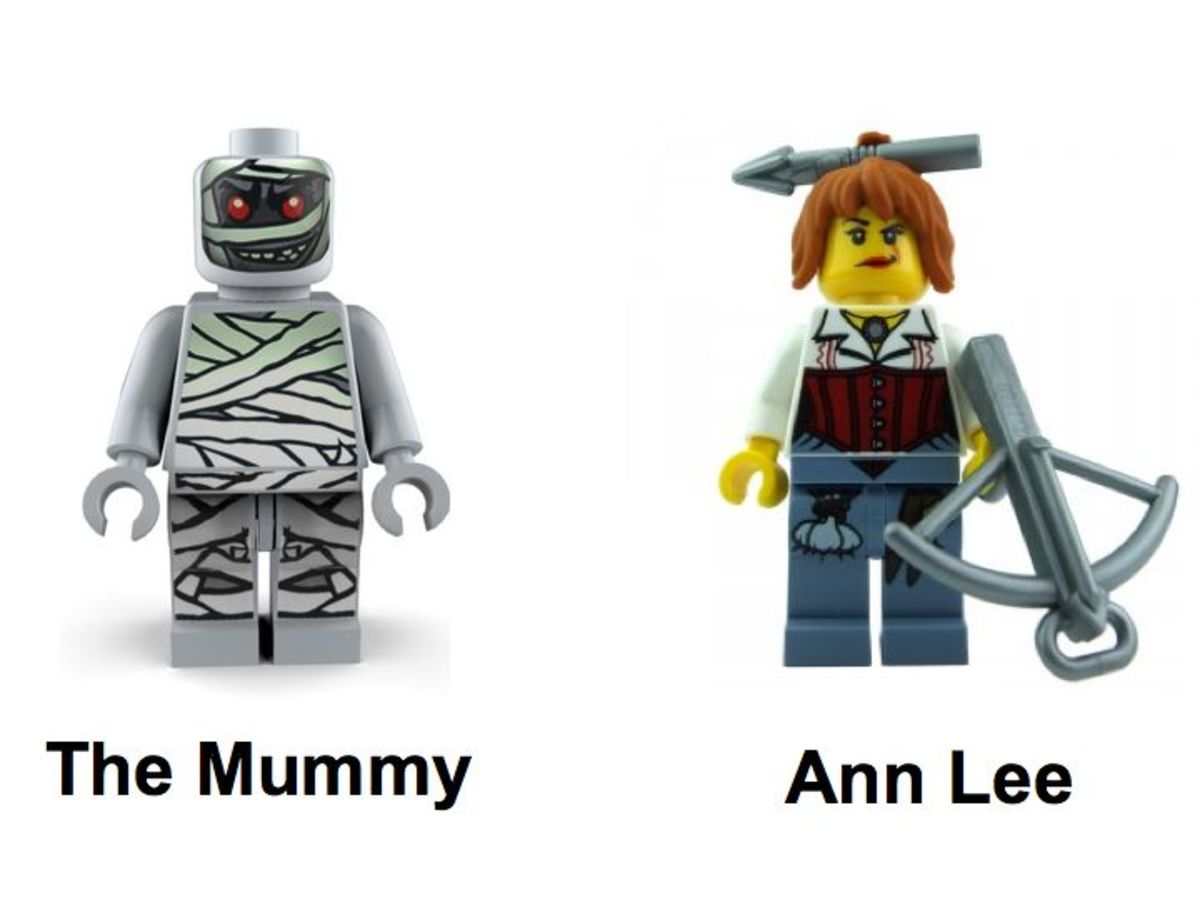 LEGO Monster Fighters The Mummy 9462 Minifigures