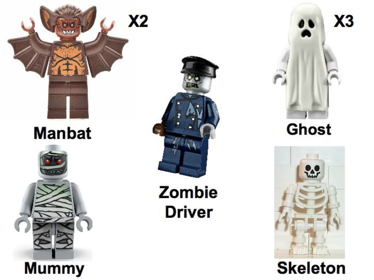 LEGO Monster Fighters Collection 5001133 Minifigures