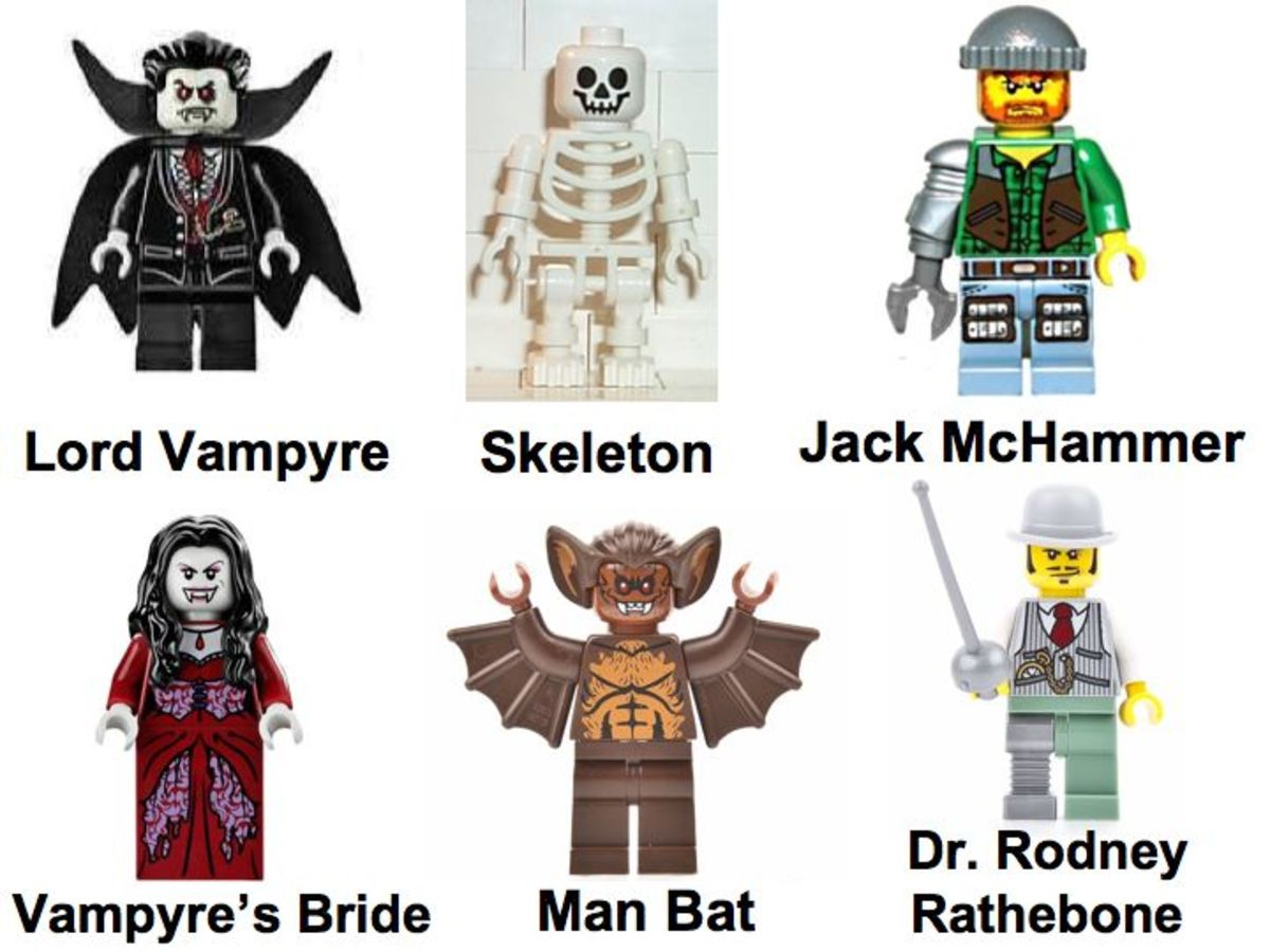 LEGO Monster Fighters The Vampyre Castle 9468 Minifigures
