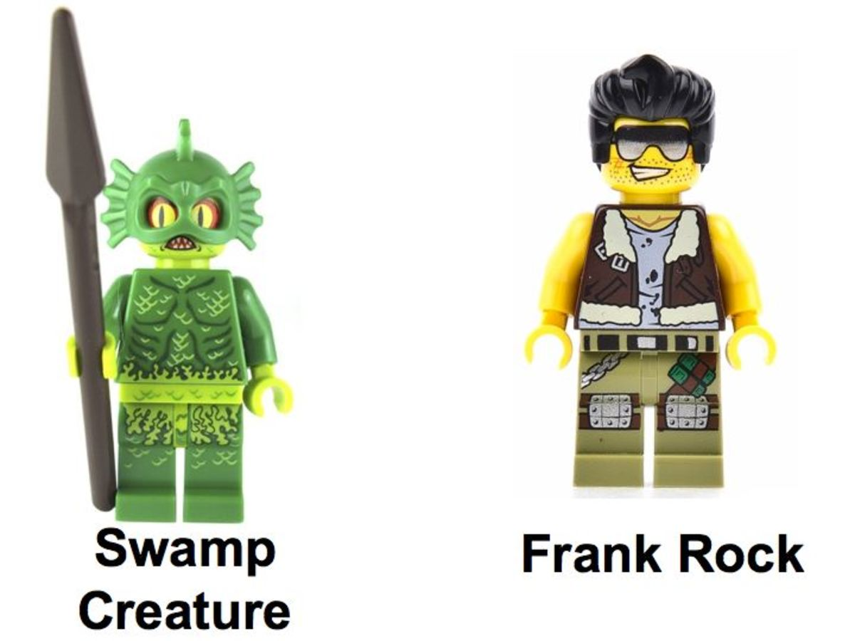 LEGO Monster Fighters The Swamp Creature 9461 Minifigures
