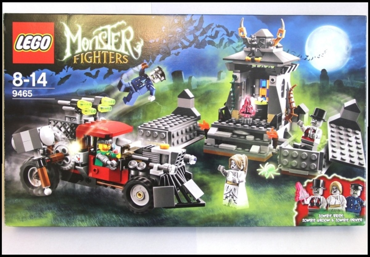 LEGO Monster Fighters The Zombies 9465 BOx