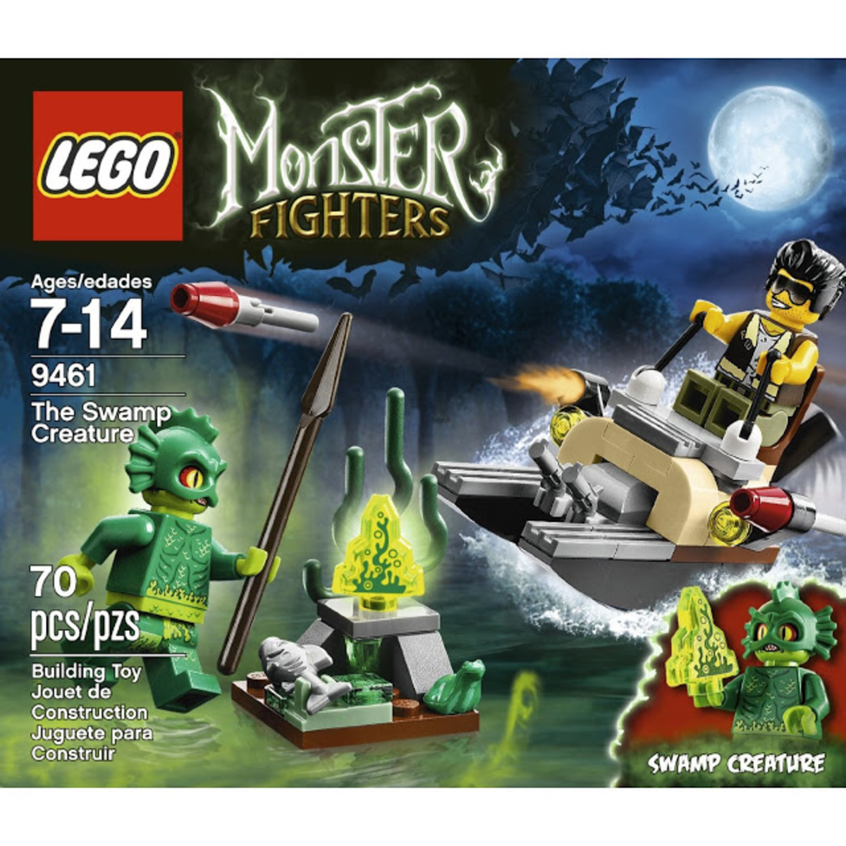LEGO Monster Fighters The Swamp Creature 9461 Box