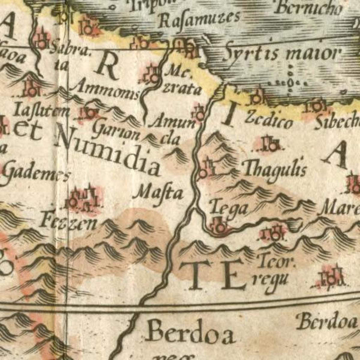 Ammon North Africa 1727