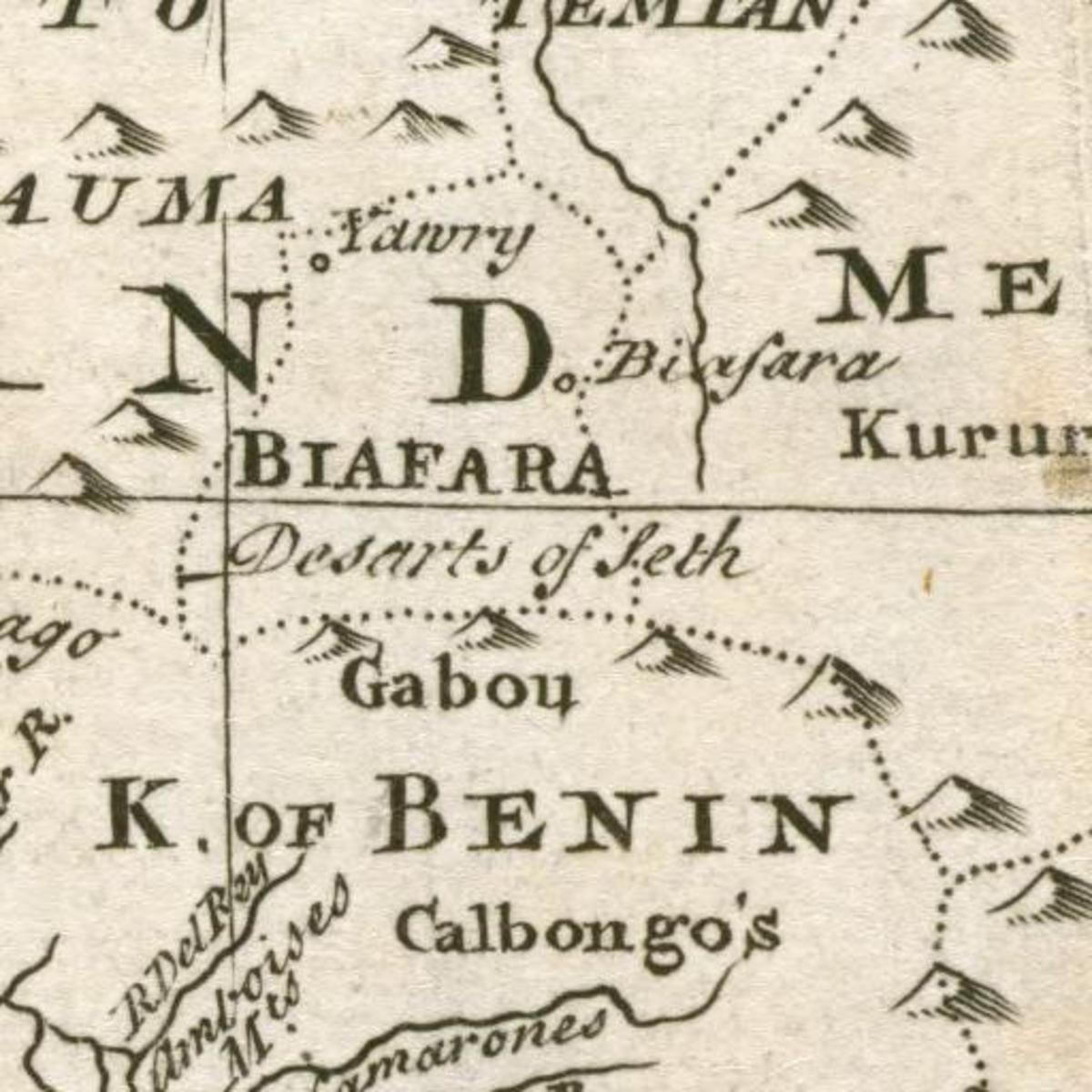 Deserts of Seth -  West Africa 1747