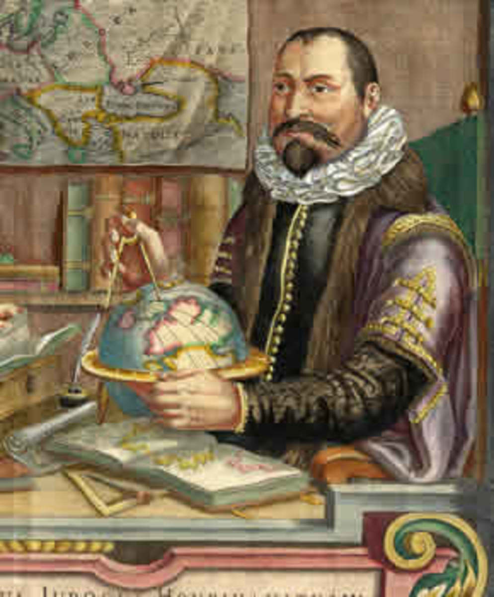 Dutch Cartographer Willem Janszoon Blaeu (1571 – 1638)