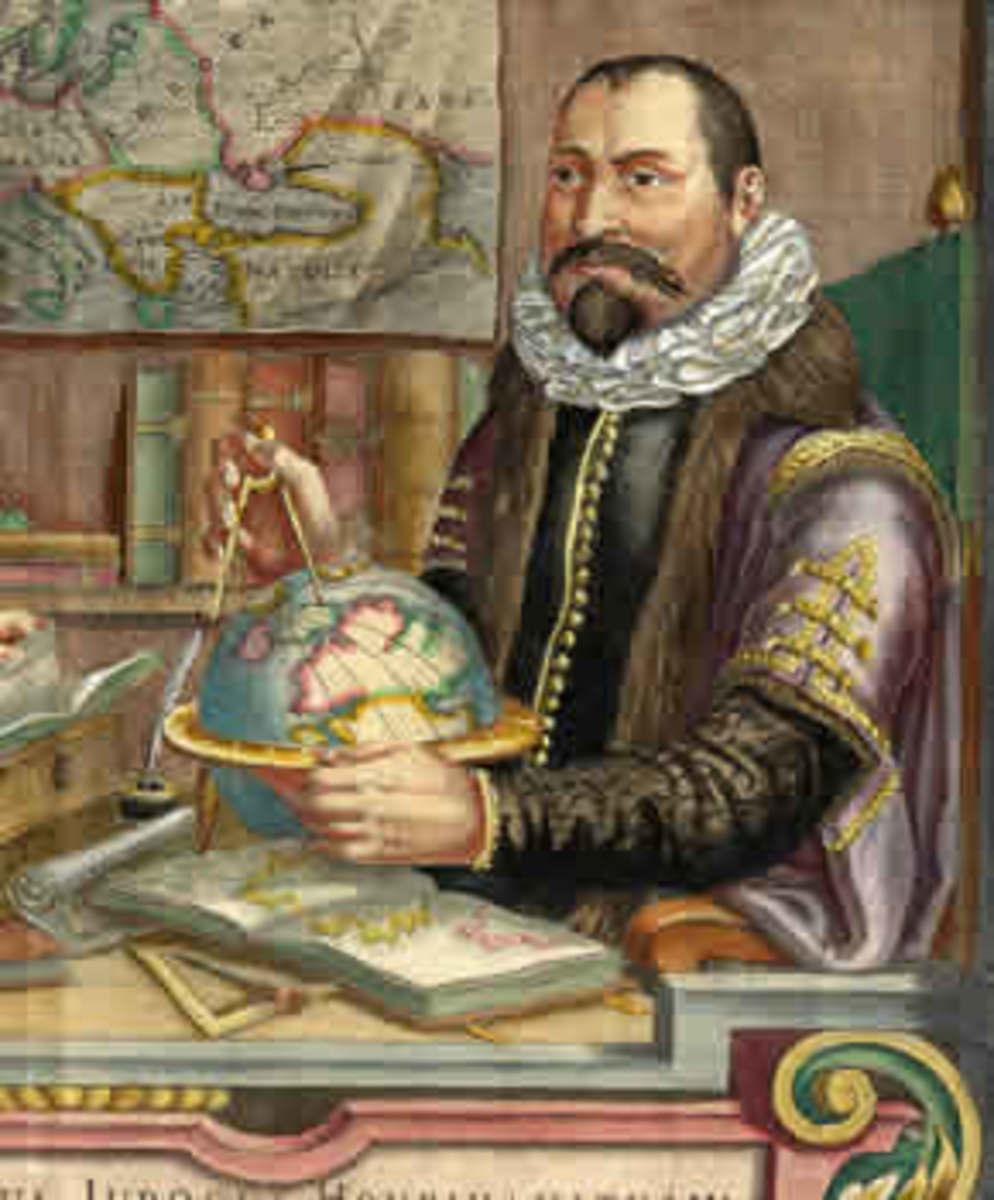 Dutch Cartographer Willem Janszoon Blaeu (1571 – 1638)