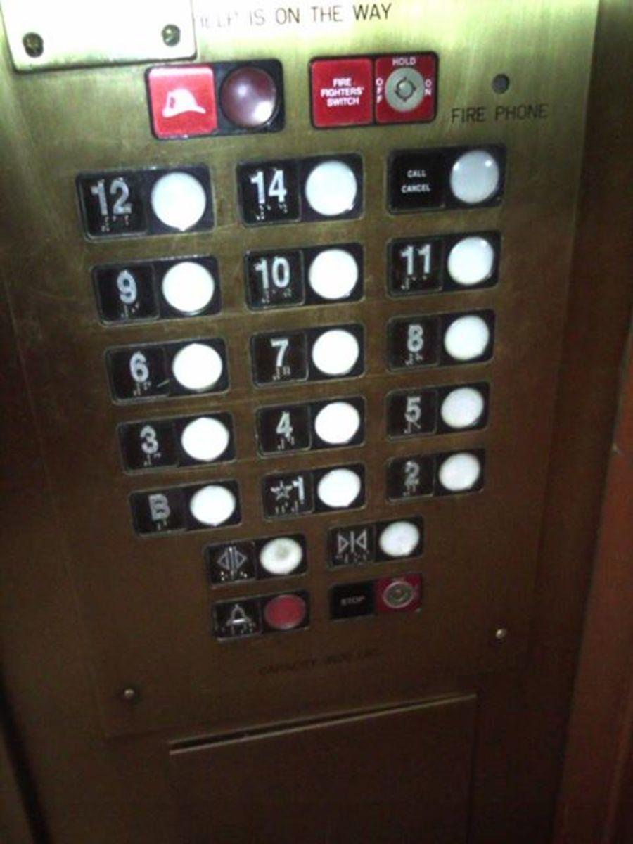 Notice no 13th floor...