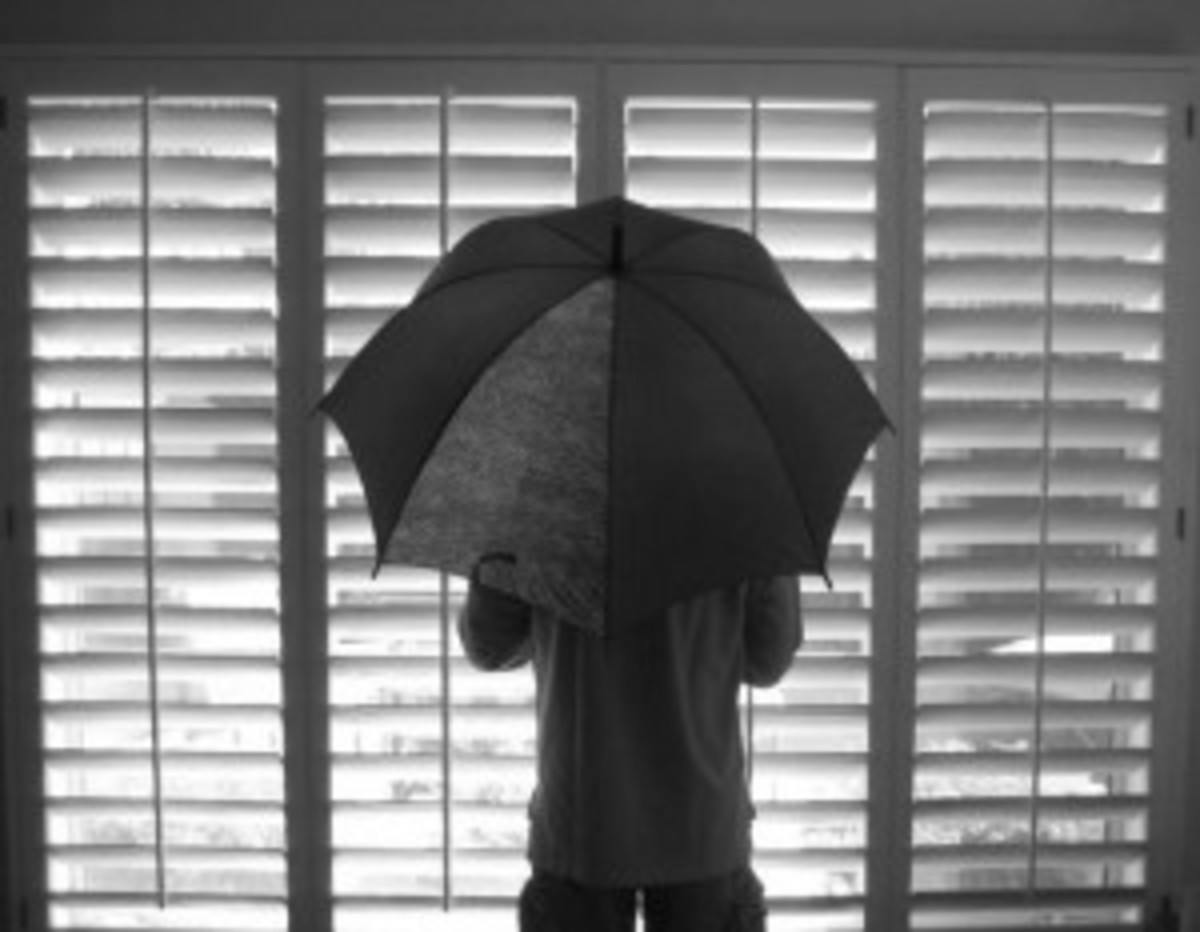 Don't open an umbrella indoors.